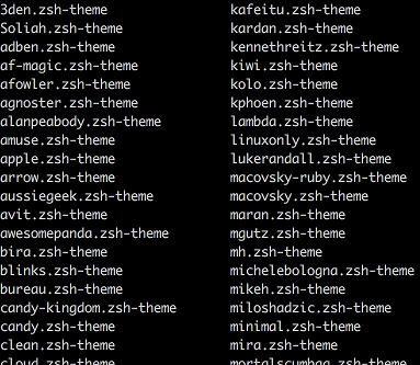 Switching to ZSH